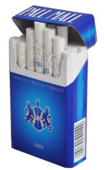 Pall Mall Blue 100s